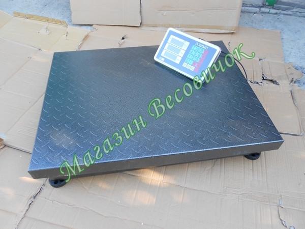 Платформенные рифленные весы Олимп 102D-16 600кг (600х800мм)
