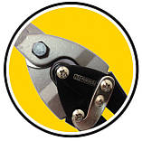 Ножиці по металу Cr-Mo, 250мм, праві, фото 5