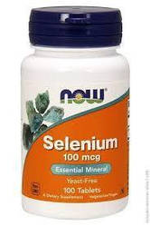 NOW_Selenium 100 мкг - 100 таб