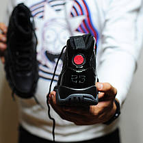 Мужские кроссовки Nike Air Jordan 9 Retro Black Dark Charcoal топ реплика, фото 2
