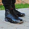 Мужские кроссовки Nike Air Jordan 9 Retro Black Dark Charcoal топ реплика, фото 4