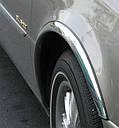 Накладки на арки (4 шт, нерж) - Citroen C-4 Picasso 2006-2013 гг., фото 2