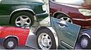 Накладки на арки (4 шт, нерж) - Citroen C-4 Picasso 2006-2013 гг., фото 6