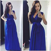Платье в пол РК161