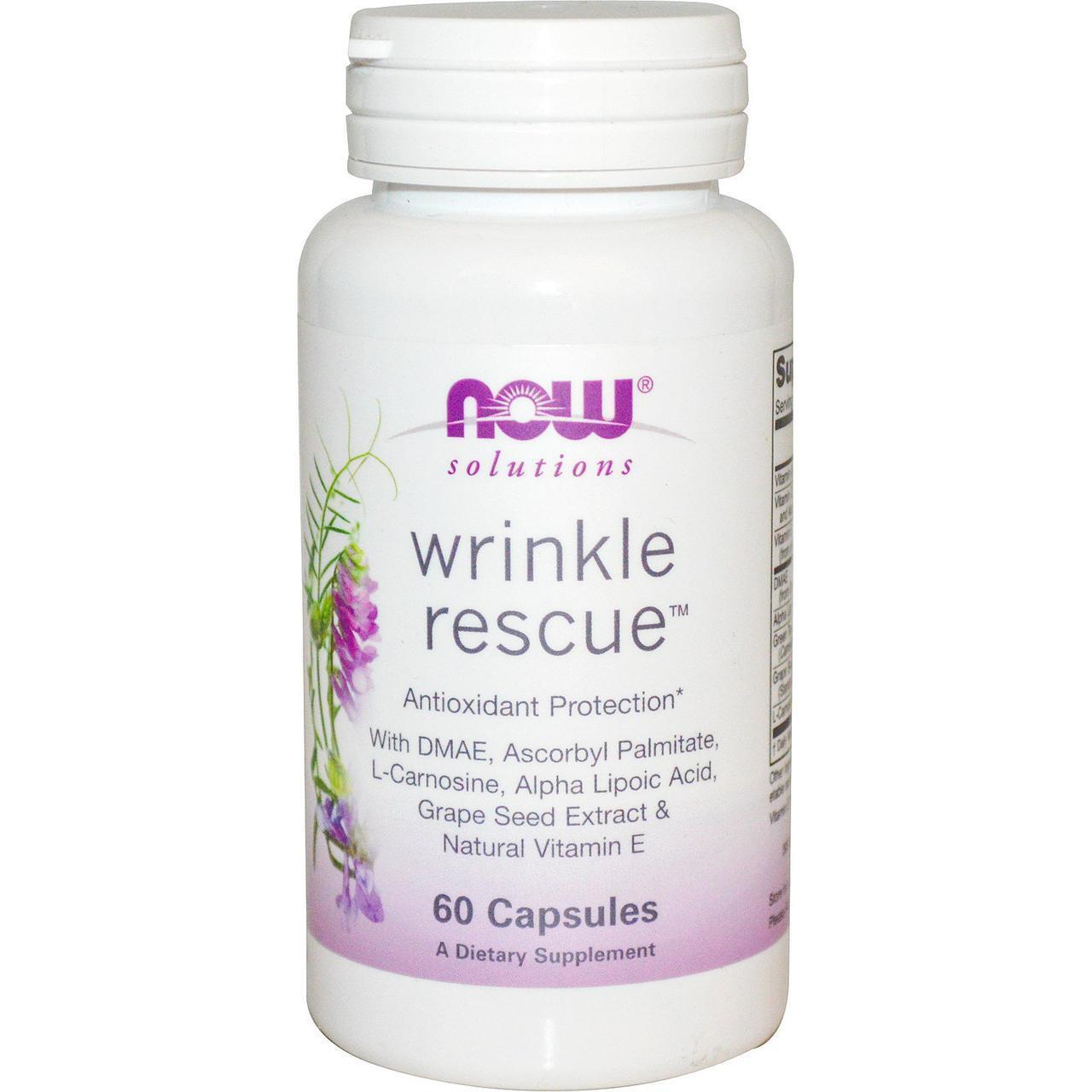 NOW_Wrinkle Rescue - 60 веган кап