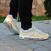 Мужские кроссовки Nike Air Max 98 x Supreme золото топ реплика, фото 2