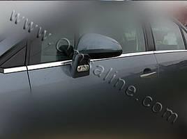Нижняя окантовка стекол (6 шт, нерж.) - Citroen C-5 2008+ гг.