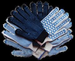 Перчатки робочі вязані