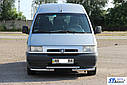 Передняя защита ST009 (нерж) - Citroen Jumpy 1996-2007 гг., фото 3