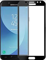 Защитное стекло для Samsung J730 Galaxy J7 (2017) (0.3 мм, 3D, с олеофобным покрытием) цвет черный