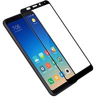 Защитное стекло для Samsung J600 Galaxy J6 (2018) (0.3 мм, 3D, с олеофобным покрытием) цвет черный