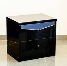 Спальня Черный Бриллиант (Черный) (1,60 м.) (раскомплектовуется), фото 2