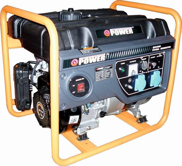 Гибридный генератор (газ-бензин)  Q-POWER QPG3000H 2,6 (3,0) кВт