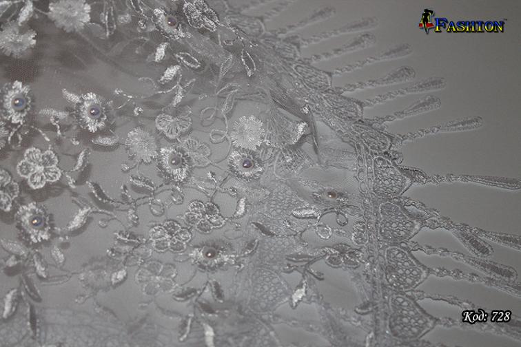 Свадебный платок с жемчугом Ибби