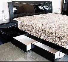 Спальня Черный Бриллиант (Черный) (1,60 м.) (раскомплектовуется), фото 3