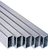 Труба алюминиевая прямоугольная 60/30, толщина стенки 2, марка АД31, Д16Т, АД0, АМг2, АМг3, Д1, фото 2