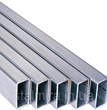 Труба алюминиевая прямоугольная 100/20, толщина стенки 2, марка АД31, Д16Т, АД0, АМг2, АМг3, Д1, фото 2