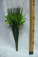 Нога одиночная с листиком, 36 см