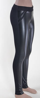 Комбинированные женские лосины, фото 3