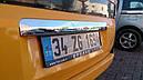 Накладка над номером (нерж.) - Citroen Nemo 2008+ гг., фото 2