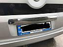 Накладка над номером (нерж.) - Citroen Nemo 2008+ гг., фото 4