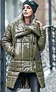 Куртка женская зимняя Катрин macaron (2 цвета), фото 4