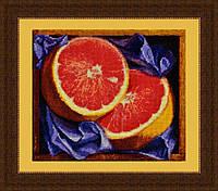 Набор для вышивки крестом Грейпфрут OLANTA VN-001
