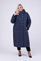 Зимнее женское пальто Riches 697 (куртка) Большие размеры 52-64, фото 1
