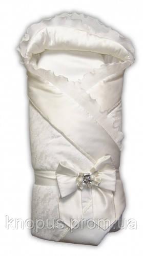 Конверт-одеяло на выписку  на овчине, Garden baby