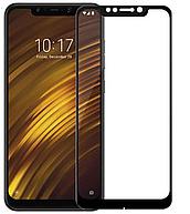 Защитное стекло для Xiaomi Pocophone F1 Full Glue (0.3 мм, 3D, с олеофобным покрытием) цвет черный