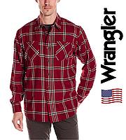 Рубашка фланелевая Wrangler® (США)(XL)/Оригинал из США