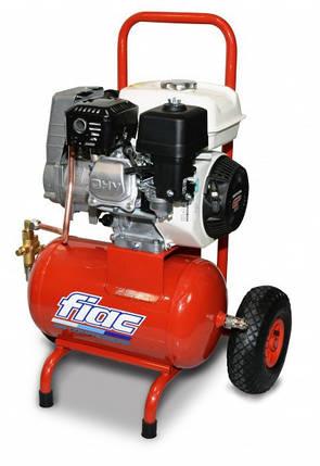 Компрессор поршневой FIAC S1520  с двигателем HONDA , фото 2