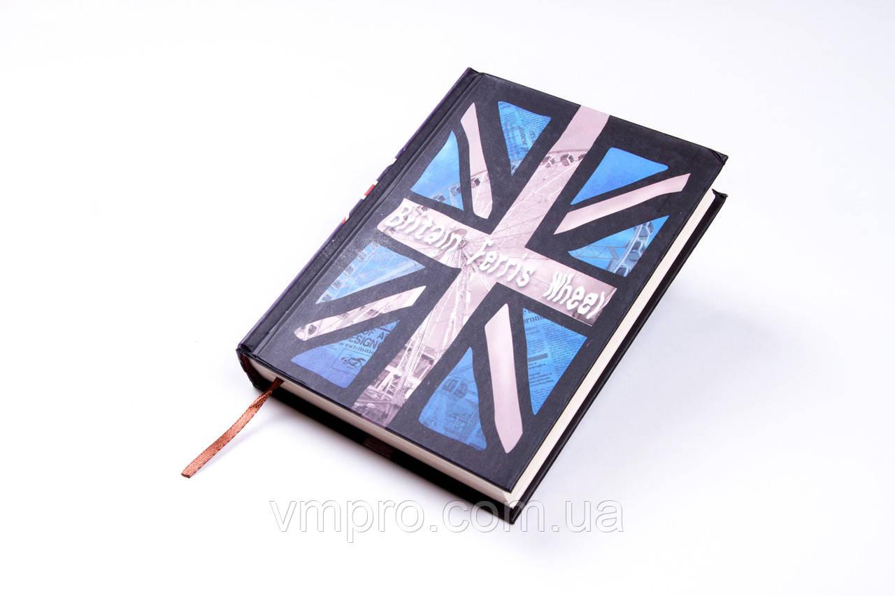 "Блокнот ""America/Britain"" (11×15 см) 128 листов, №501281-1088"