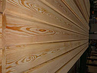 Имитация бруса лиственница сибирская 20х142х4000 мм сорт В