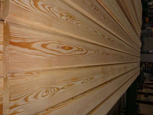 Имитация бруса лиственница сибирская 20х142х3000 мм сорт AB