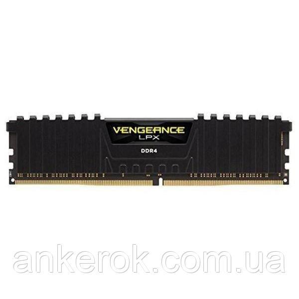 Оперативна пам'ять Corsair Vengeance LPX 16Gb (2x8Gb) DDR4 3200 MHz (CMK16GX4M2B3200C16)