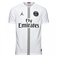 Футбольная форма ПСЖ (PSG) 2018-2019 Гостевая Версия JORDAN белая, фото 1
