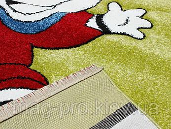 Детский ковер CALIFORNIA 0280 зеленый, фото 2