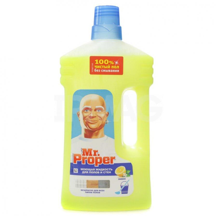 MR Proper Лимон для пола и стен 1 л