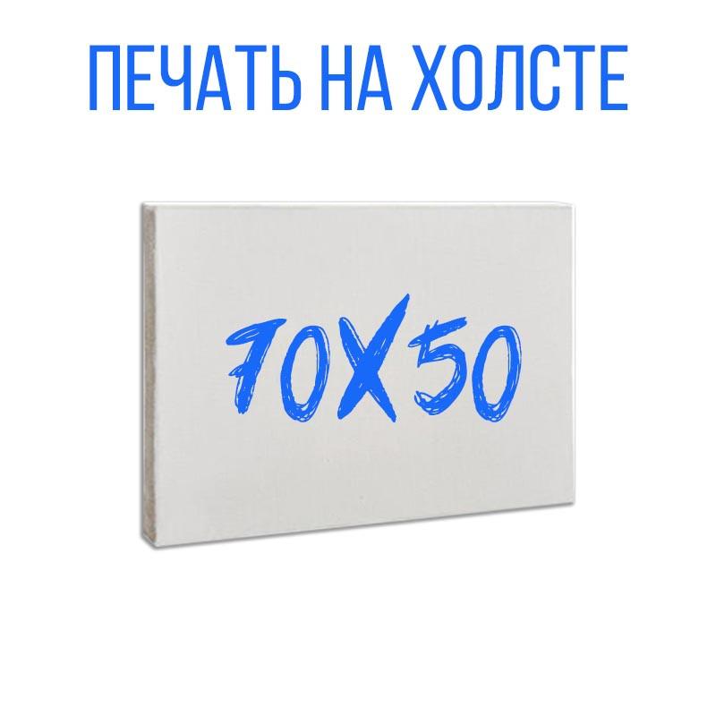 Холст 70х50 см