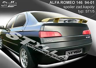 Cпойлер тюнинг Alfa Romeo 146