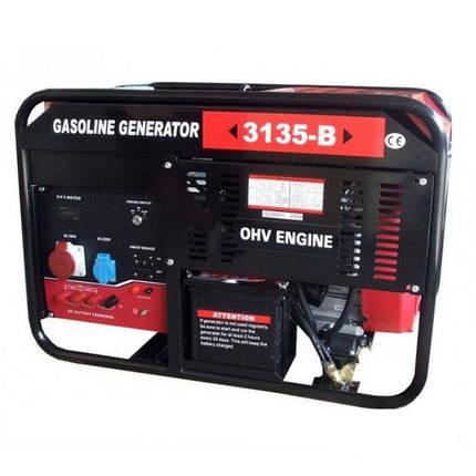 Генератор бензиновый WEIMA WM3135-B (9,5 кВт), фото 2