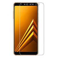 Защитное стекло Samsung Galaxy A730 A8+ 2018 Full Cover (2.5D) 0.33 mm прозрачное Mocolo