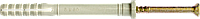 Дюбели для быстрого монтажа 8х80мм с цилиндрическим бортиком (нейлон)