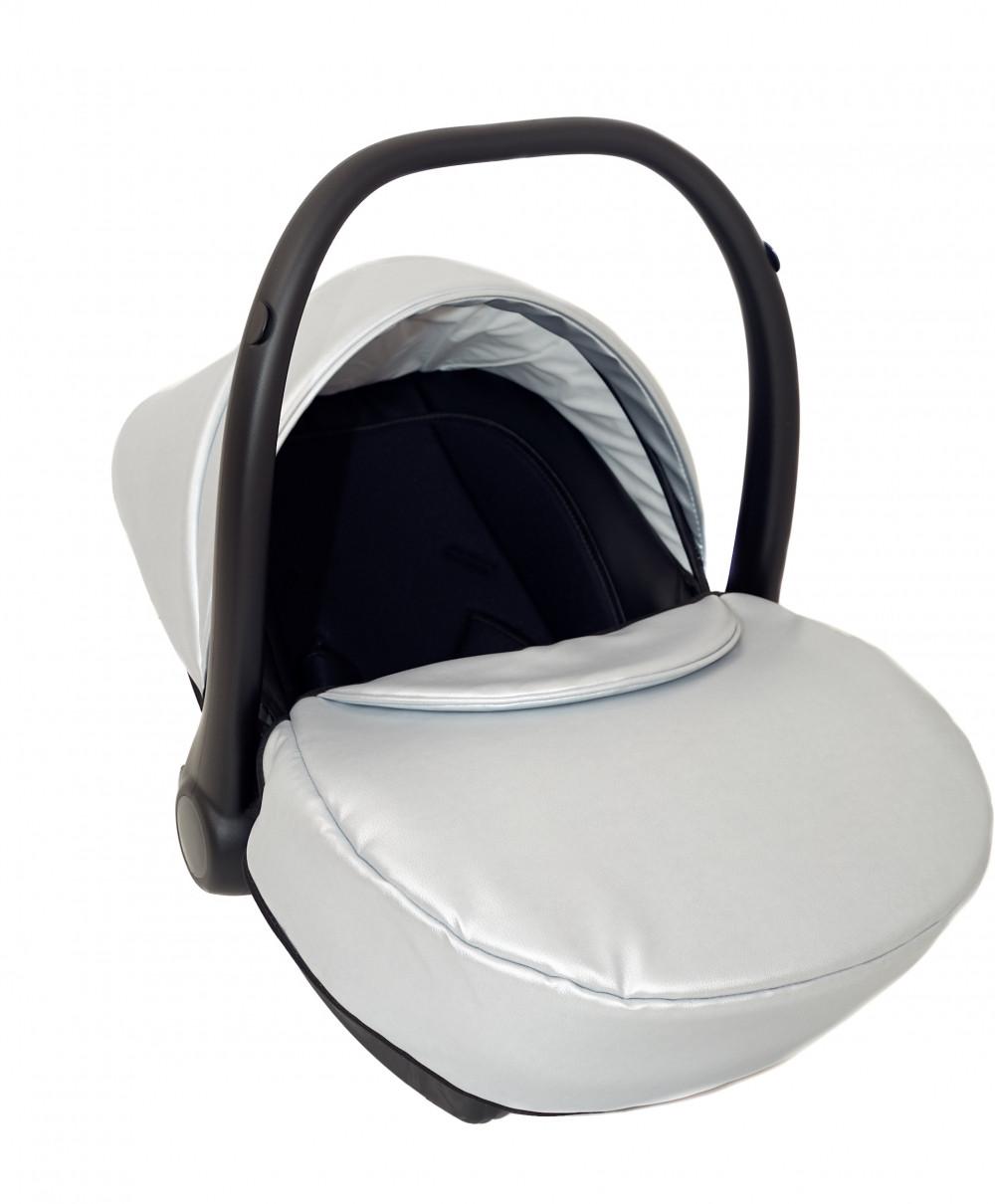 Детское автокресло Verdi Mirage Eco Premium silver (0-13 кг)