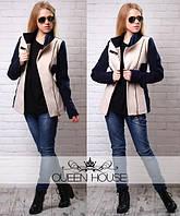 Женское короткое кашемировое пальто (размеры 42,44,46,48), фото 1