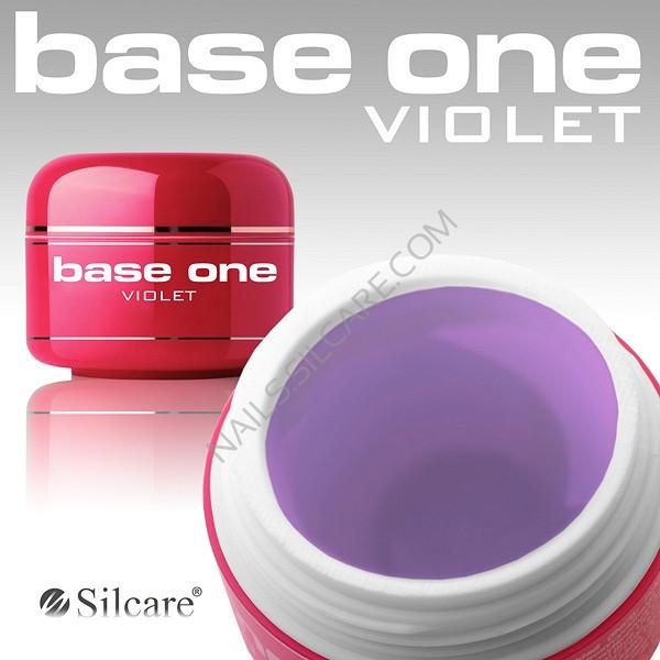 Silcare гель прозрачный Violet Silcare 5 г
