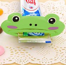 """Выжиматель для зубной пасты """"Лягушка"""" - размер 9*4см, пластик"""