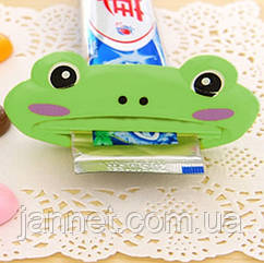 """Выжиматель для зубной пасты """"Лягушка"""""""
