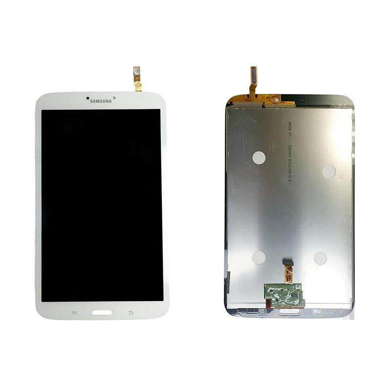 Дисплейний модуль для планшету Samsung T310, T3100, T311, T3110, T315 Galaxy Tab3 3G в зборі з тачскріном, білий